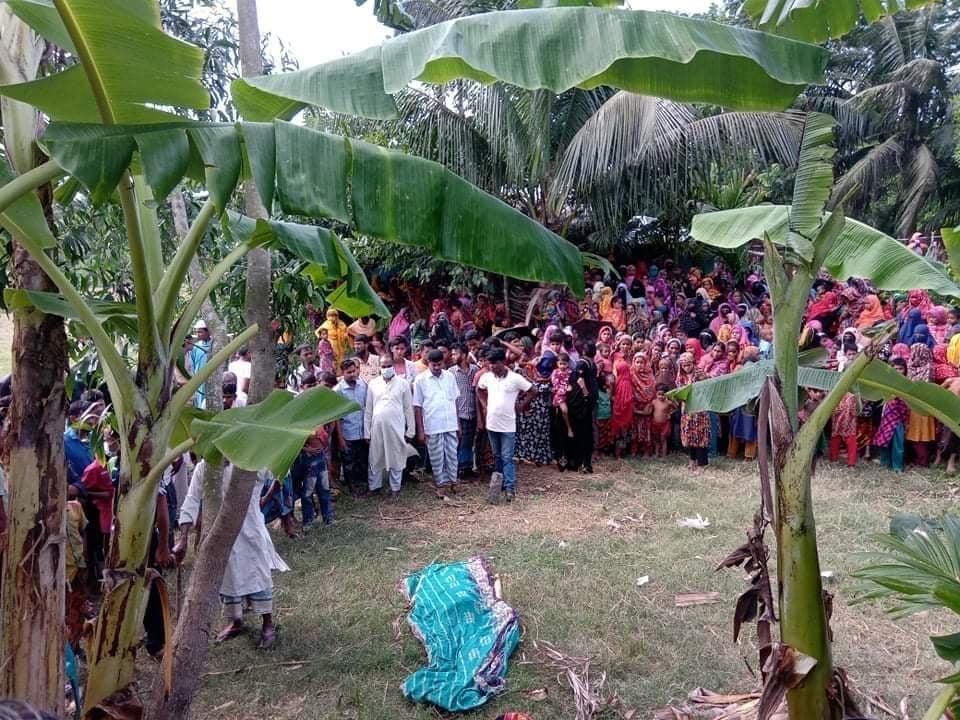 নোয়াখালীতে মেয়েকে কুপিয়ে হত্যা, সৎমা শ্রীঘরে