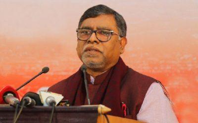 গোপালগঞ্জে হবে টিকা উৎপাদন কারখানা :স্বাস্থ্যমন্ত্রী জাহিদ মালেক স্বপন