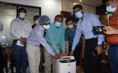 নোয়াখালী জেলা স্বাস্থ্য বিভাগকে 'গ্লোব গ্রুপের' করোনার চিকিৎসা সামগ্রী প্রদান