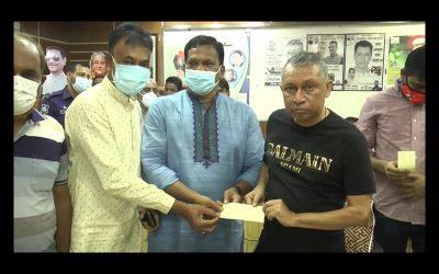 নোয়াখালীতে শ্বাসকষ্টে থাকা গরীব রোগীদের বিনামূল্যে অক্সিজেন সরবরাহ করবে ছাত্রলীগ কর্মীরা